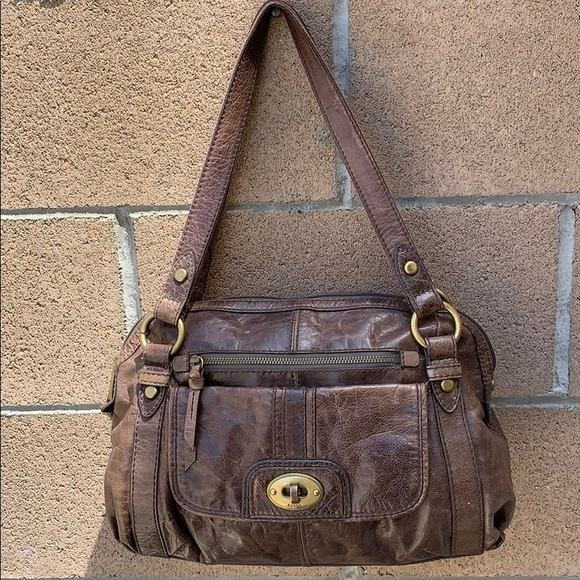 Fossil Handbags - Fossil Heritage Long Live Vintage Rugged  Handbag